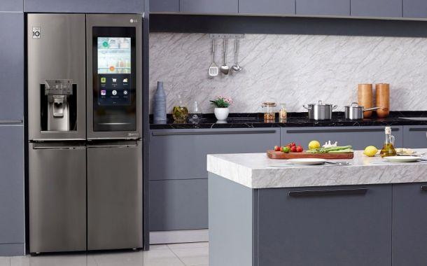 LG mit intelligenten Kühlschränken