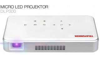 "Telefunken: Micro LED-Projektor ""DLP 300"""