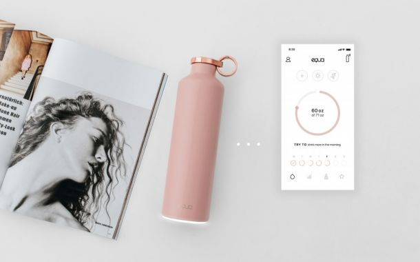 "Die ""Smart Bottle"" von Equa"